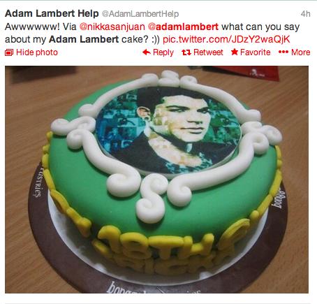 AdamLambertCake