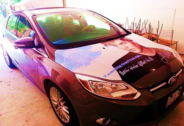 @Glambert1143: @adamlambert Check out my car!!! I saved for weeks to get this done. #iloveadamlambert http://pic.twitter.com/WPZK9lI90L