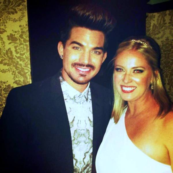 @Stephers621: @adamlambert thank you for being kind enough to take the time to take a picture! You totally made my night! http://pic.twitter.com/WfUuxHdgJ3Adam