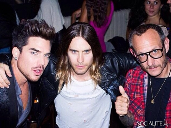Adam Lambert, Jared Leto & Terry Richardson – Celebrity Twitter Pictures Of The Week – August 30, 2013