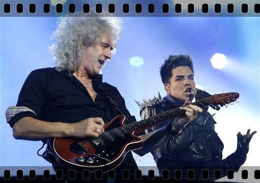 Adam Lambert, Brian May