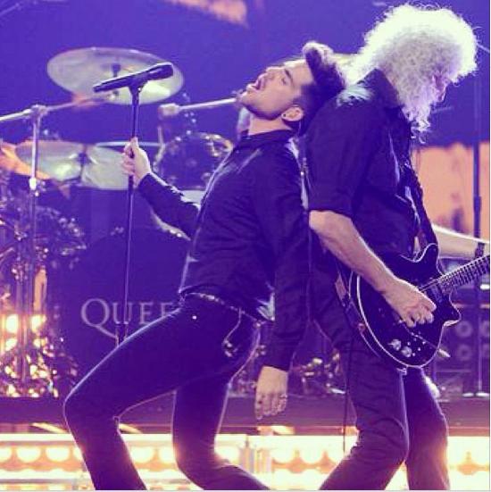 realadamlambert:  #iheartradio #queen #rockaintdead