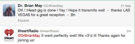 BrianMayTweet