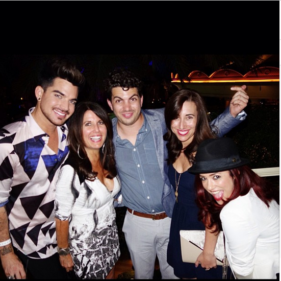 @adamlambert: Fam and Friends! http://instagram.com/p/ek3TdNuNDL/