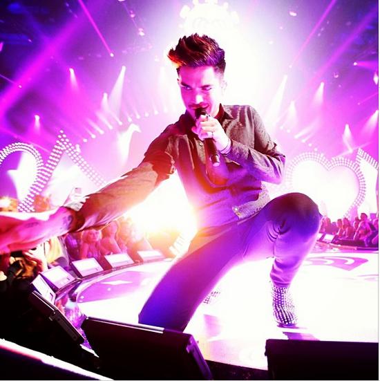 @adamlambert: #queen #iheartradio #gettinhandsy #lovemyfans http://instagram.com/p/eieU96uNNv/