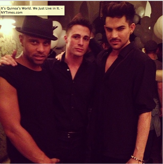 @adamlambert: terrancespencer's photo http://instagram.com/p/ekzURwIMig/