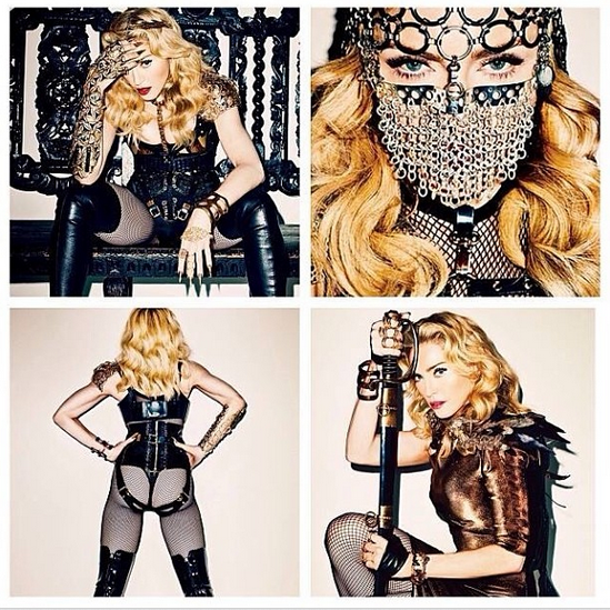 @adamlambert: WOW! madonna looks amazing in this terry_world  shoot. @lipsnlockslv. http://instagram.com/p/fEvZbeONE5/