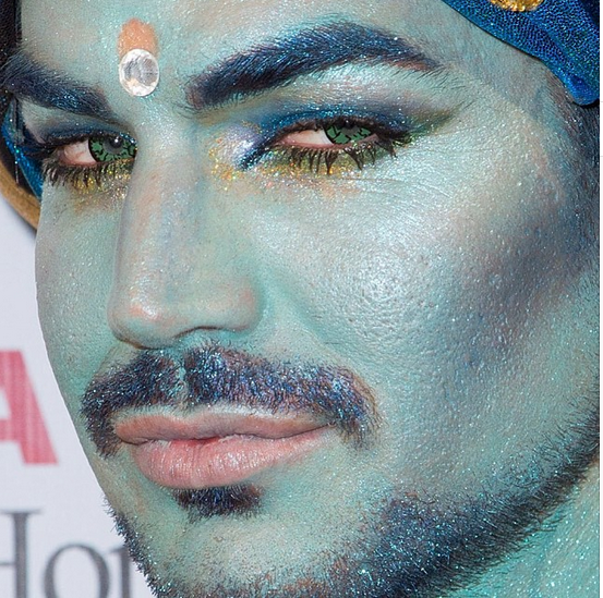 @LAMBERTLUST: Extreme Glittery Close Up: Nice Contacts Adam Lambert http://instagram.com/p/f8R0M7nQjI/