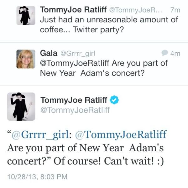TommyConfirmsNYGig