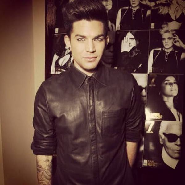 Adam Lambert - posted to his Instagram http://tinyurl.com/k7s95vw