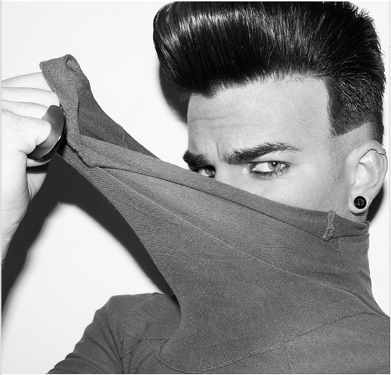 @adamlambert: By Tony Duran 2011 http://instagram.com/p/gmwv0mONLe/
