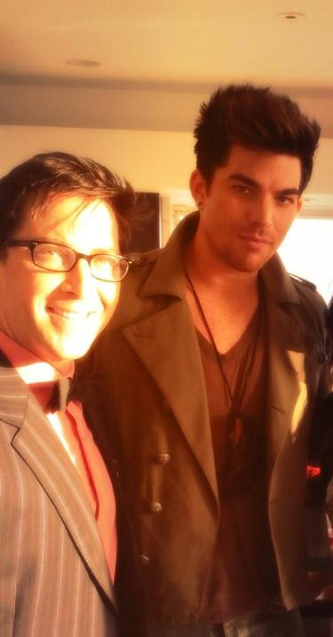 @danbucatinsky: Hanging with @adamlambert in support of @freedomtomarry today .... pic.twitter.com/yslXqmHBUi