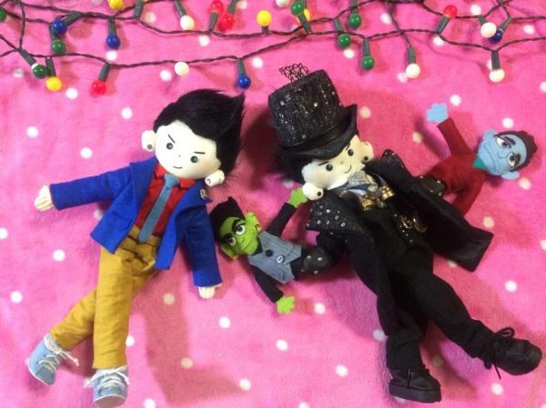 Muppet and Starchild dolls by @KardamDoll