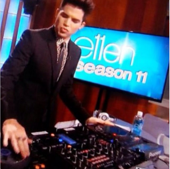 adamlambert: Hey Mr DJ