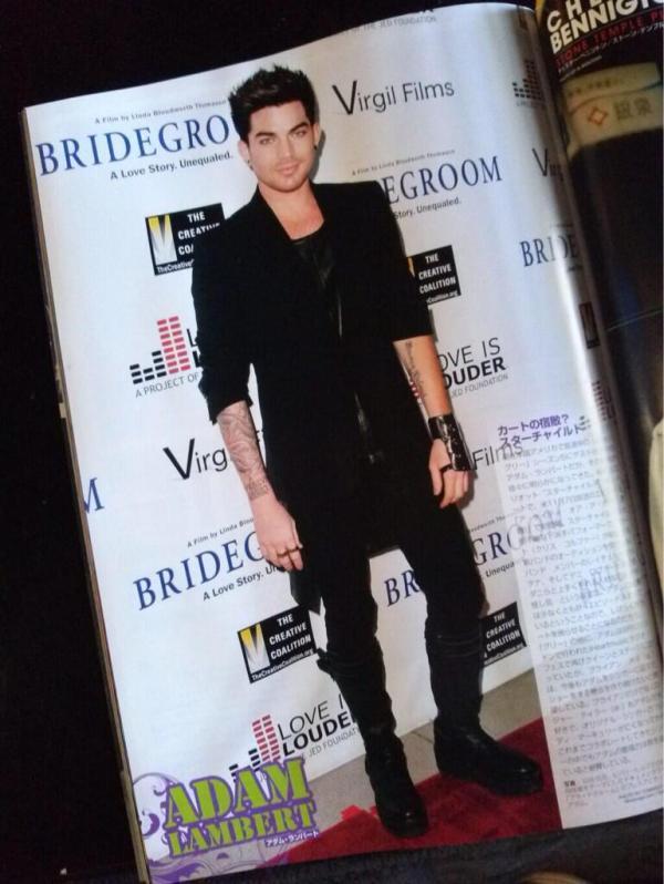 @LAMBERTLUST: Adam Lambert featured in Japanese magazine INROCK December 2013 http://instagram.com/p/gpXZIIHQjH/  pic.twitter.com/FwfLvbNDSy