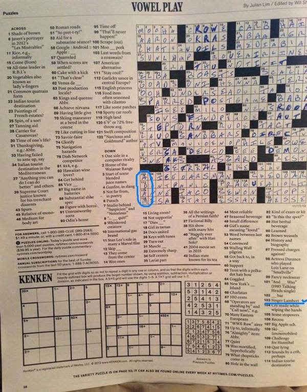 NYTimesCrossword