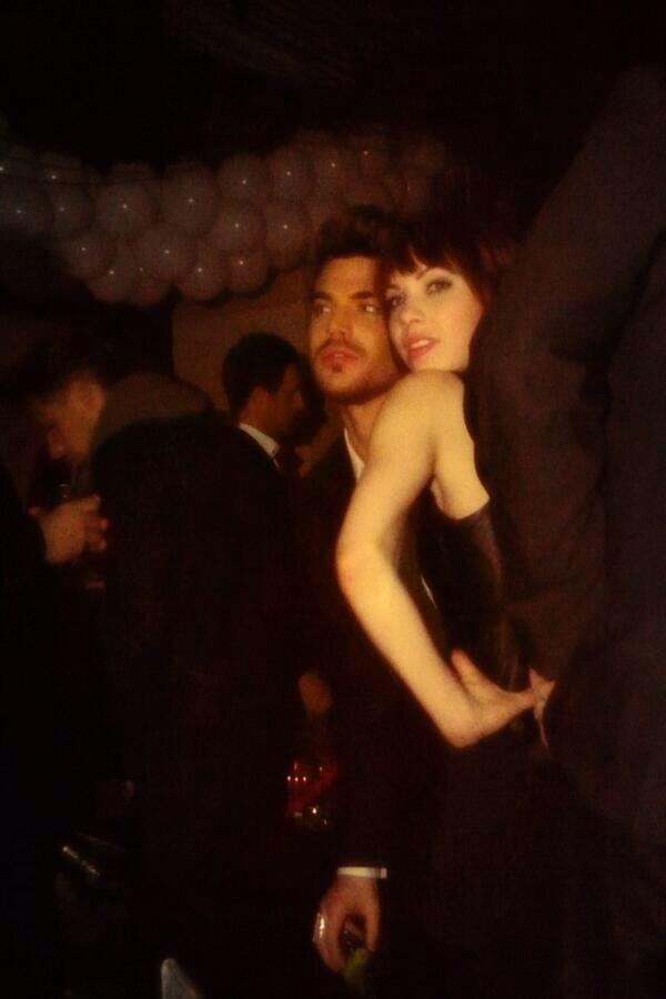 Adam with Carly Rae Jepsen