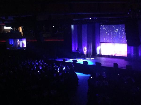 "@TrevorProject: @adamlambert performing ""What do you want from me"" #TrevorLive pic.twitter.com/00LP83NNVN"