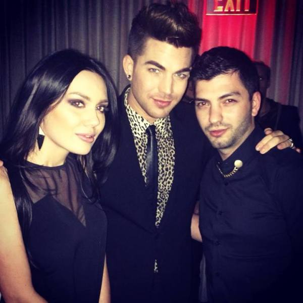 Mher Baghdasaryan OMG!!! 21-րդ դարի լավագույն ձայնի՝ Adam Lambert–ի հետ։ American Idol–ի բոլոր ժամանակների ամենահայտնի մասնակից, Queen խմբում Freddie Mercury–ին միակ փոխարինողն, ու համեստ, որքան Սիլվա Հակոբյանը  — with Arpi Gabrielyan at Hollywood.