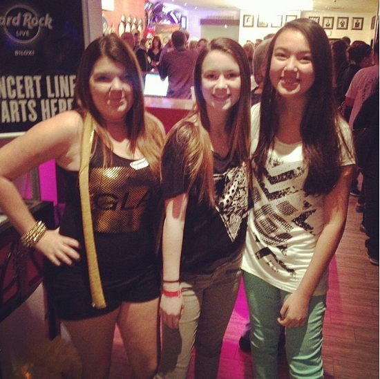 Hard Rock Hotel & Casino Biloxi: Glamberts in line since 10pm last night waiting for