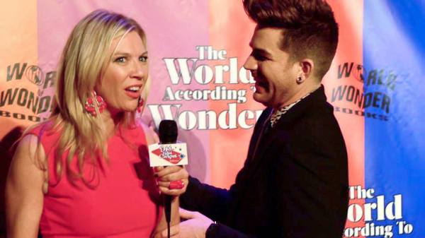 Erin Brown, Hot on the Red Carpet interviewing Adam