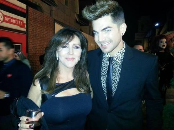 Krista Keller Stodden: Loved seeing Adam Lambert at World of Wonder's party at Universal.