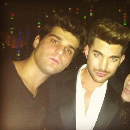 andreatgamberini: Me and Adam Lambert partying in Mint Shanghai #China http://instagram.com/p/iFuN1cQ93L/  pic.twitter.com/O4tQuclicd