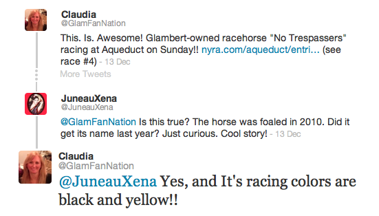 RaceHorseTweets