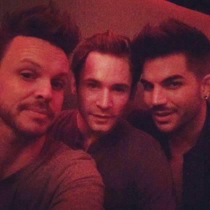 lambertlove: @adamlambert in Vegas!  They have similar hair #lasvegas #rockofages #adamlambert #love  Source Links ~ http://tinyurl.com/lssp9u7
