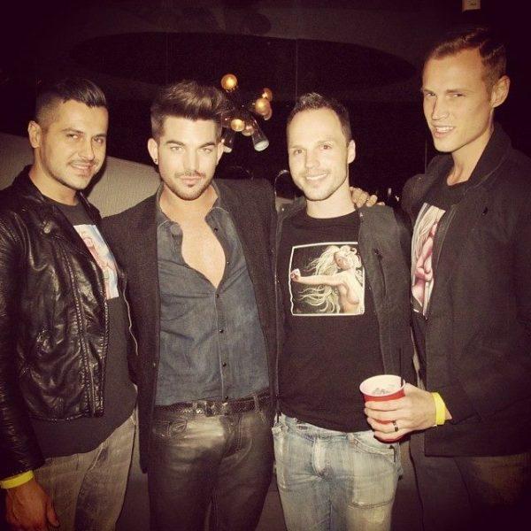@NickSanPedro: with @adamlambert SHARE Nightclub & Ultra Lounge #ShareNightclub after #Britney #PieceOfMe w/ #AdamLambert #DerrickBarry #MackenzieClaude #NickSanPedro #ShareTheFun http://tinyurl.com/m25t3nw