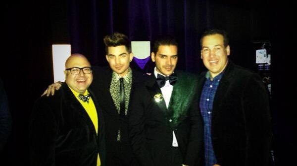 @frankdecaroshow Thank you for sharing this! Tweet from @frankdecaroshow ~ Hanging with @adamlambert and pal at the Wowie Awards. @WorldOfWonder @jimcolucci pic.twitter.com/v5Wi8Gys3L