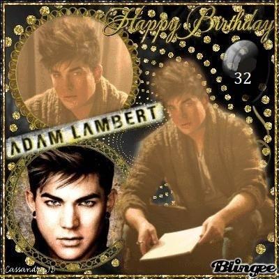 Happy Birthday to Adam Lambert!! From Bulgaria!
