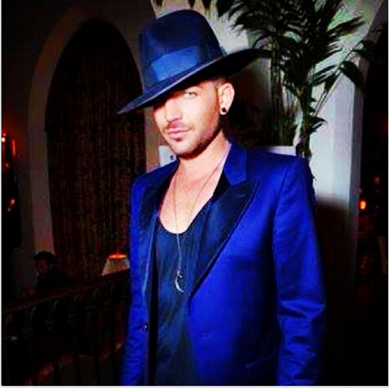 adamlambert: Hat Trick at the Chateau