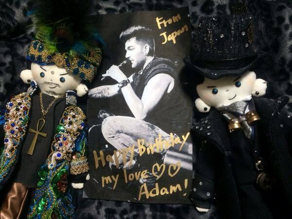 @kardamdoll : @adamlambert Happy Birthday!I love you with all my heart!!!♥️From Japan #HappyBirthdayAdamLambert pic.twitter.com/SIeEUY14Lq