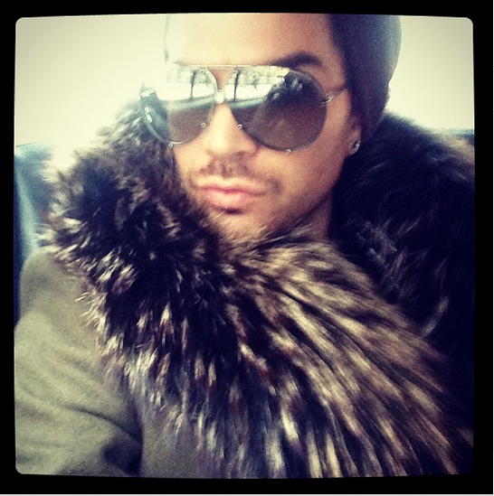 @adamlambert: NYC Winter http://instagram.com/p/it5pdduNHi/
