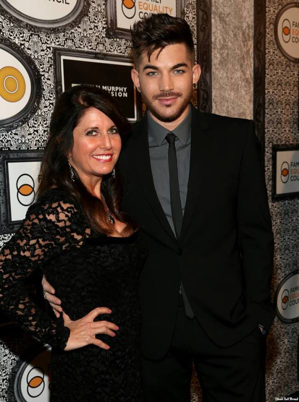 Leila and Adam Lambert attend Family Equality Council Annual Dinner