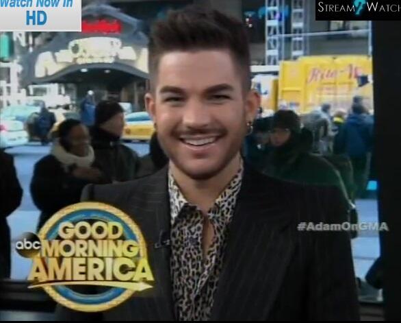 @O_glambert: Adam on #GMA pic.twitter.com/Jtlh85YqyN