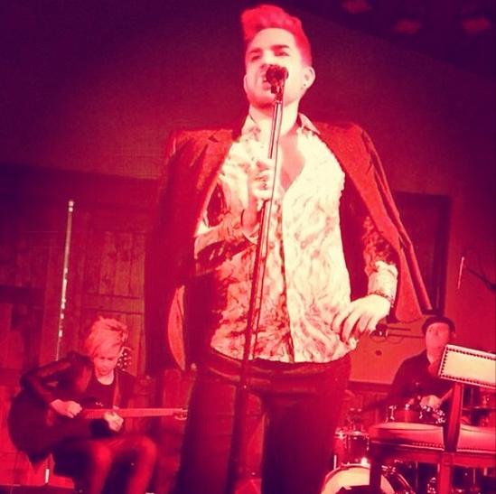 @adamlambert: Red House Lytes http://instagram.com/p/nSXuSvuNFy/