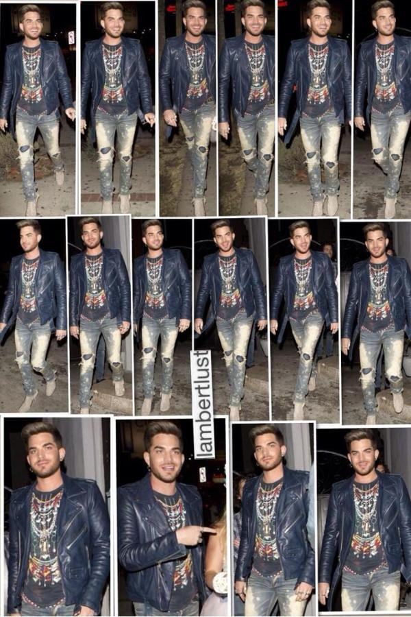 @LAMBERTLUST 16 photo collage: Adam Lambert out with BFF Danielle Stori for her bday pic.twitter.com/H1aEK2RaUe