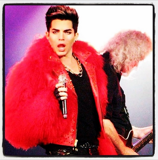 @adamlambert: Flashback to the Queen Hammersmith Apollo run in London two years ago. http://instagram.com/p/oqiKFquNCN/