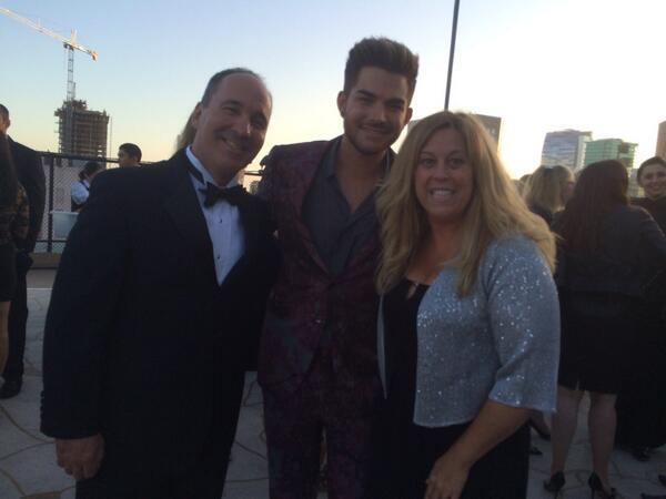 @ sidneyhelberg_ The fact that my parents are at the same wedding as Adam Lambert. (Jonny Cota's wedding) pic.twitter.com/9rTcxMeM0n