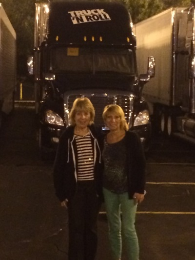 Arleen and Eydie find the trucks!