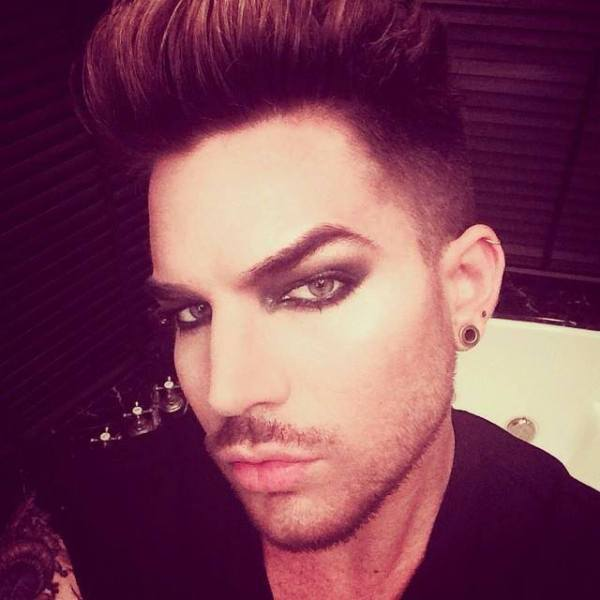 @adamlambert: Friday the 13th Glam. That full moon gave me the urge to get Dusted. http://instagram.com/p/pO9GNAuNP1/