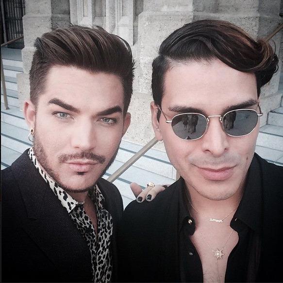 Adam Lambert's IG: @mdmolinari #nofilter  http://instagram.com/p/tf6CAGONKq/