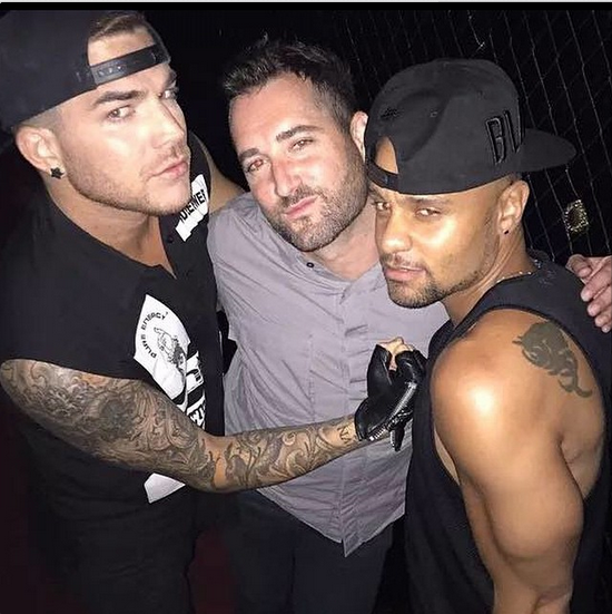 adamlambert: @stretchyman @terrancespencer