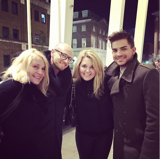kjhiggs · The Shard London #xfactor #adamlambert #brianfriedman #60th #terrijackson #theshard #shard #fun #dinner #americanidol #queen