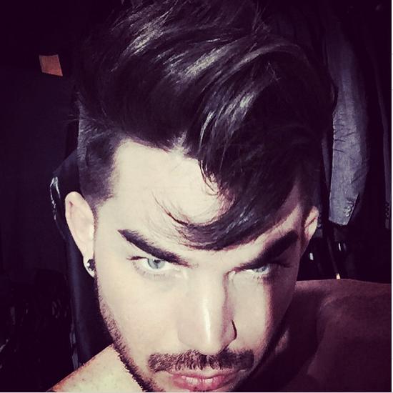 @adamlambert  · Holiday Swirl http://instagram.com/p/w-NZBJONBu/