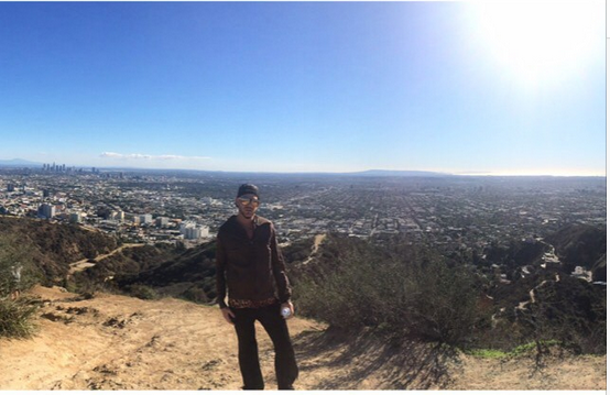 @adamlambert  ·  Xmas Day Runyon Canyon Hike. -- the air was so crisp! http://instagram.com/p/xFa9LSONO_/
