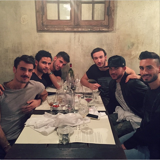 giulioscar: The first (last) supper #thelastsupper #Turin