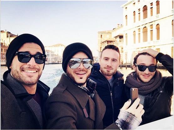 @adamlambert  ·  Jan 5 The Italians  VENICE http://instagram.com/p/xeZp3UuNJH/